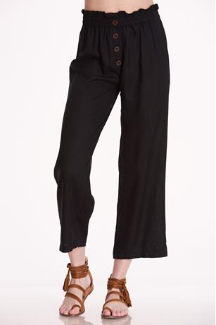 Paperbag Wide Leg Pants