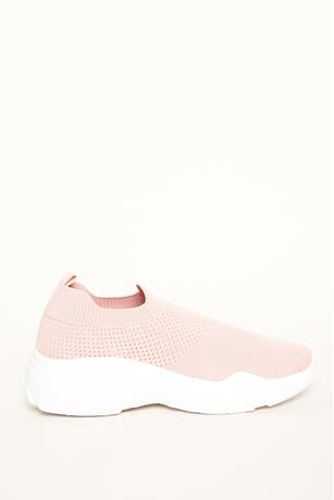 Athletic Low Top Sneakers BLUSH