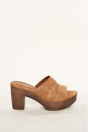 Platform Mule Heels