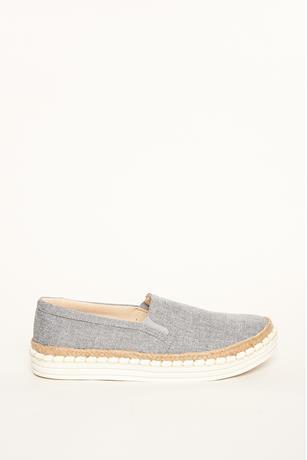 Linen Slip-Ons