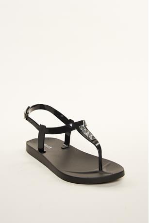 Pyramid Stud Sandals BLACK
