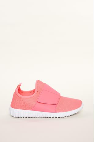 Neon Mesh Athletic Sneakers FUSCHIA