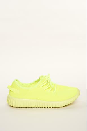 Neon Mesh Sneakers NEON YELLOW