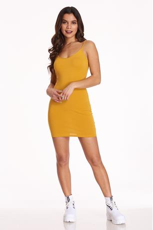 Mini Cami Dress GOLD