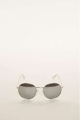 Classic Round Sunglasses SILVER