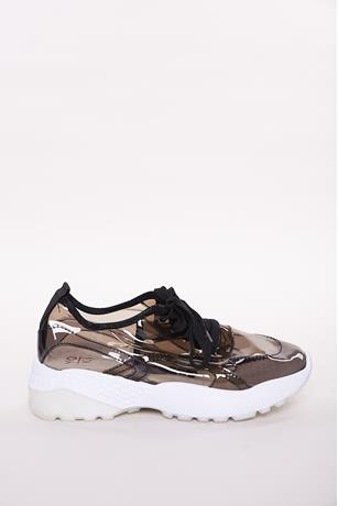 Transparent Sneakers BLACK