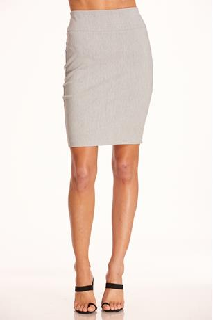 Millennium Pencil Skirt HEATHER