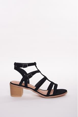 Cage Open Toe Sandals BLACK