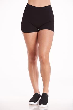 Ribbed Seamless Bike Shorts