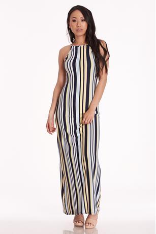 Halter Maxi Dress NAVY