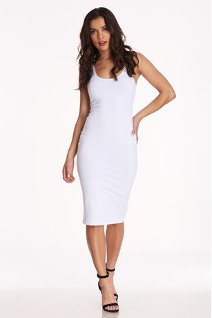 Racerback Midi Dress WHITE
