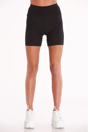 Solid Bike Shorts BLACK