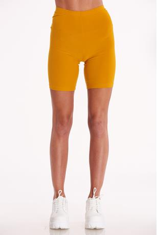 Solid Bike Shorts YELLOW