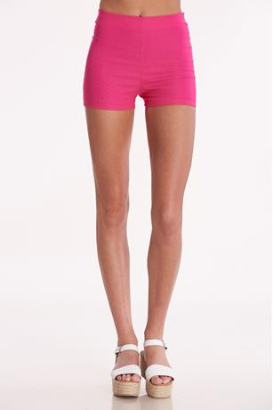 Solid Millennium Shorts HOT PINK