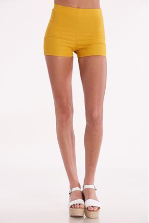 Solid Millennium Shorts MUSTARD