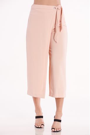Asymmetrical Culottes PEACH