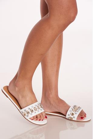 Gem Slide Sandals