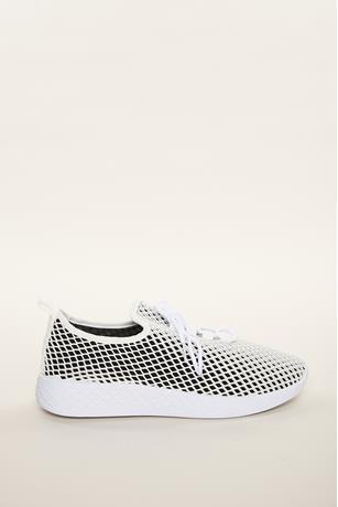 Athletic Mesh Sneakers BLACK