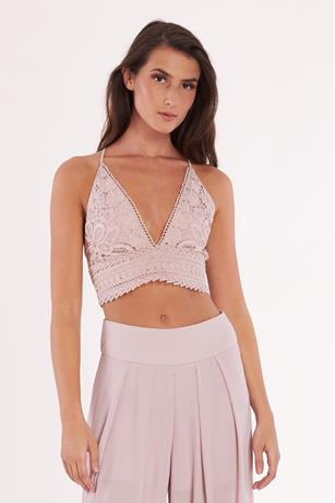 Crochet Crisscross Back Top