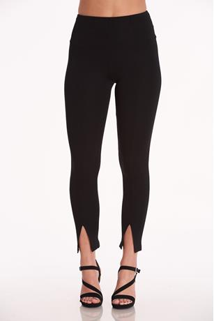 Pull On Ponte Pants BLACK