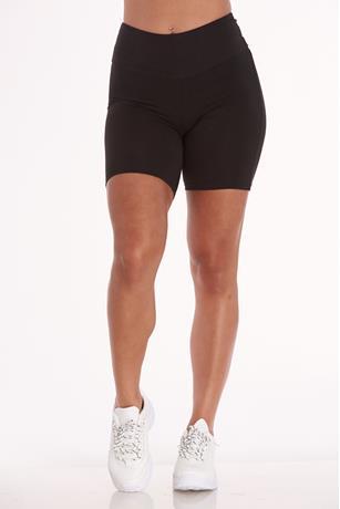 Brushed Bike Shorts BLACK