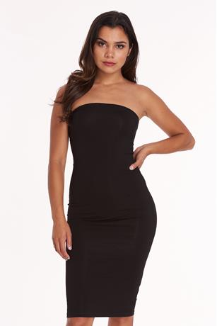 Cinched Tube Mini Dress