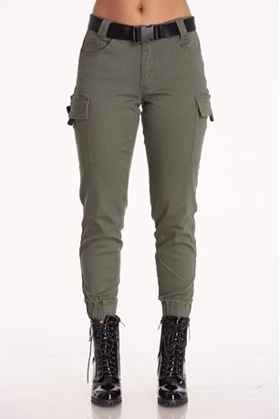Release Buckle Cargo Joggers