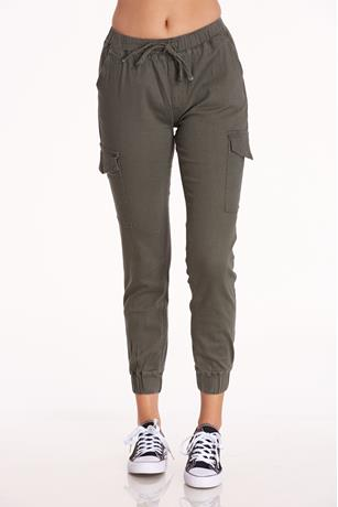 High Rise Cargo Joggers