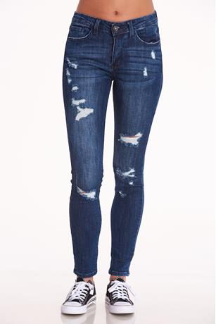 Nature Mid Rise Jeans DARK WASH