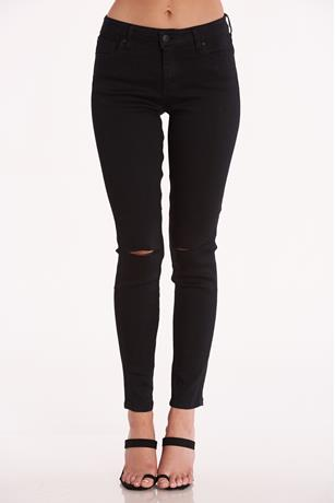 Celebrity Pink Rip Knee Jeans