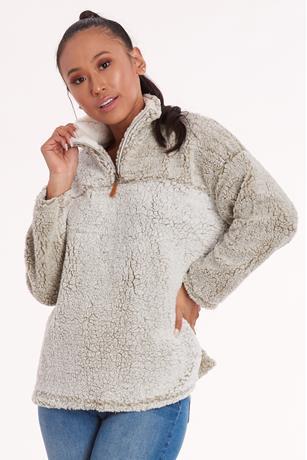 Sherpa Half-Zip Pullover