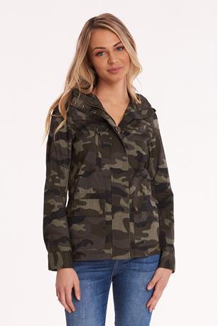 Camo Tunic Jacket