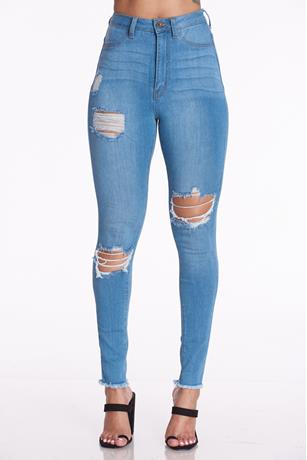 Aphrodite Ripped Jeans