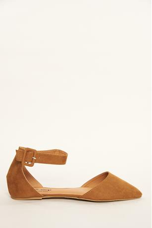 Buckled Strap Flats