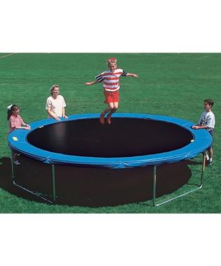 14' ROUND TRAMPOLINE WITH SAFETY PADS