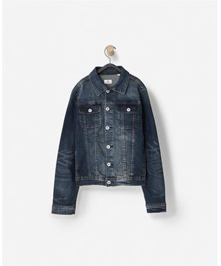 BOYS DRAKE DENIM JACKET  RINSE USED