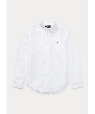 WHITE SOLID OXFORD