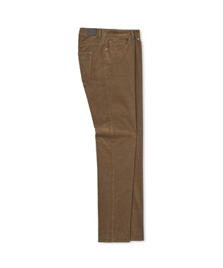 CROWN SUPERIOR SOFT CORDUROY FIVE POCKET PANT MALT