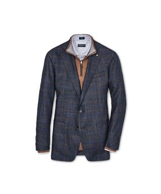 COLLECTION POLAR PLAID SOFT JACKET BARCHETTA
