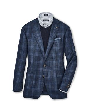 COLLECTION ENGLISH MANOR PLAID SOFT JACKET MAREA