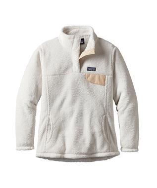 GIRLS RE-TOOL SNAP T FLEECE PULLOVER RWX-RAW LINEN