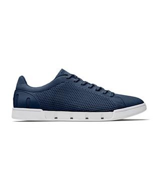 BREEZE TENNIS KNIT SNEAKER NAVY/WHITE