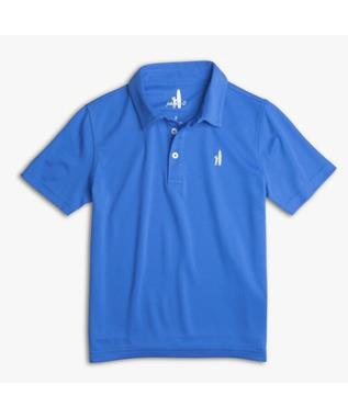 BOYS SHORT SLEEVE PREP FORMANCE POLO MARLIN