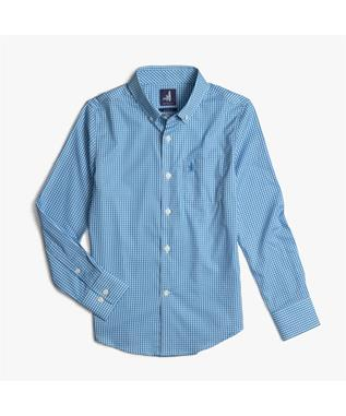 AUGUSTA JR. PREP-FORMANCE BUTTON DOWN SHIRT 965 OASIS