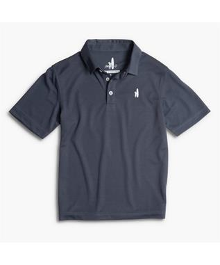 BOYS FAIRWAY PREP-FORMANCE JR. POLO 402-MIDNIGHT