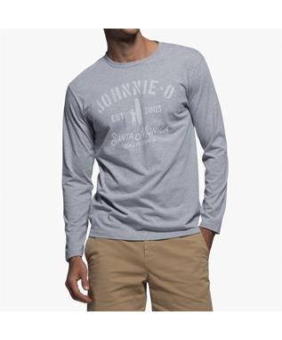 ON BOARD LONG SLEEVE T-SHIRT LIGHT GRAY