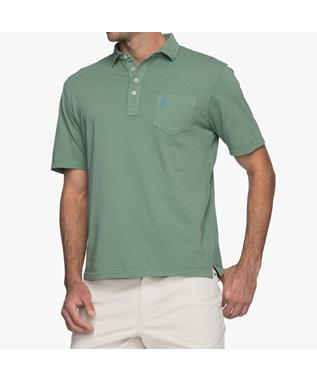 GARMENT DYED ORIGINAL 4-BUTTON POLO CYPRESS