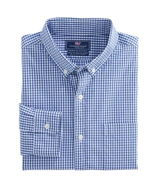 BUTTONBUSH CHECK SLIM MURRAY SHIRT MOONSHINE