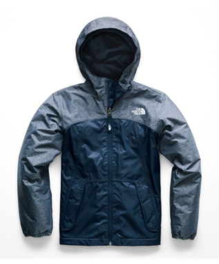 GIRLS WARM STORM JACKET N4L-BLUE WING TEAL