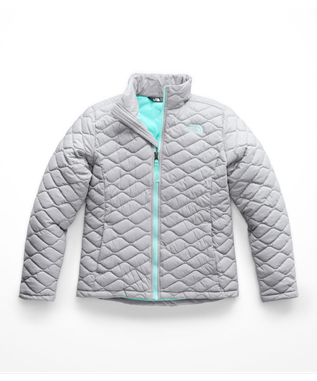 GIRLS THERMOBALL JACKET V3T-MID GREY